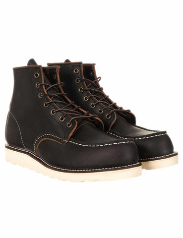 RED WING CLASSIC MOC TOE 8849 BLACK PRAIRIE BOOTS