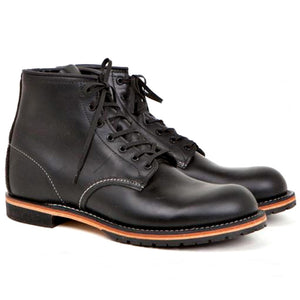 RED WING BECKMAN 9014 BLACK FEATHERSTONE BOOTS