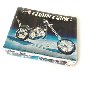 NOS 1971 Revell Chain Gang Chopper 1:12 scale Model Kit