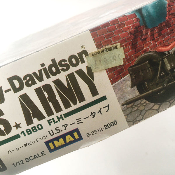 NOS Harley-Davidson FLH 1980 US Army 1/12 IMAI Model Kit