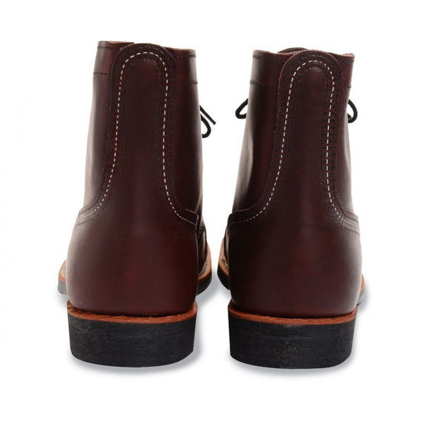 RED WING IRON RANGER 8119 OXBLOOD MESA LEATHER BOOTS