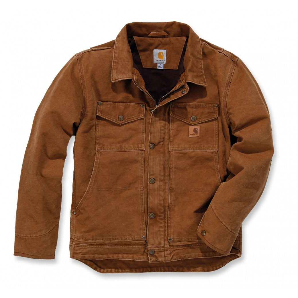 CARHARTT BERWICK BROWN JACKET