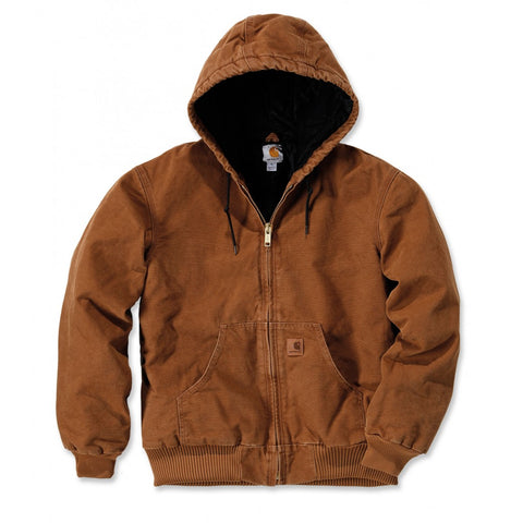 CARHARTT SANDSTONE BROWN ACTIVE JACKET
