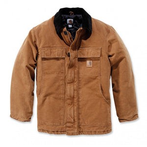 CARHARTT SANDSTONE BROWN TRADITIONAL COAT