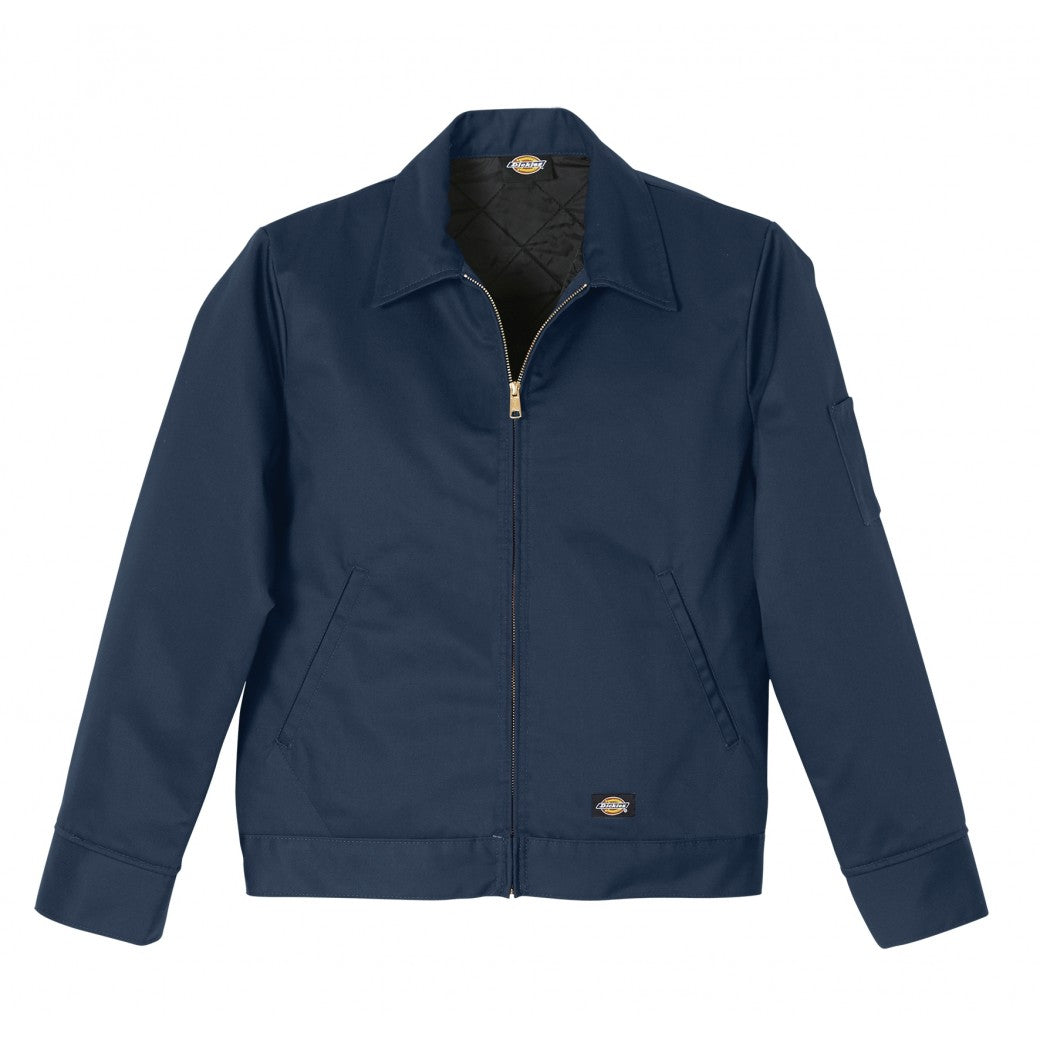 DICKIES LINED EISENHOWER NAVY JACKET