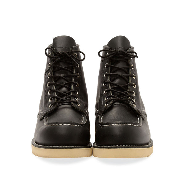 RED WING CLASSIC MOC TOE 8130 BLACK CHROME BOOTS