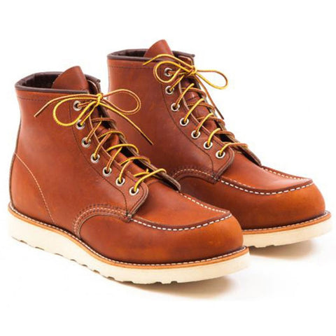 RED WING CLASSIC MOC TOE 875 ORO LEGACY BOOTS
