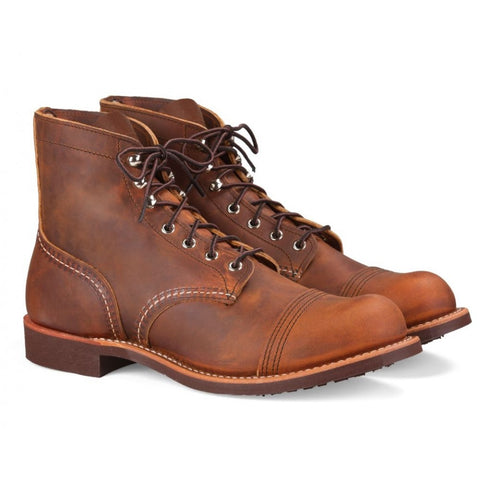RED WING IRON RANGER 8085 COPPER ROUGH & TOUGH BOOTS