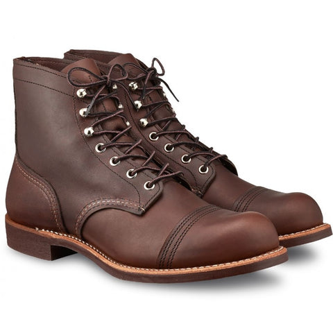 RED WING IRON RANGER 8111 AMBER HARNESS BOOTS