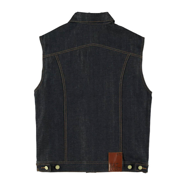 EAT DUST FIT 673 INDIGO BLUE DENIM JACKET