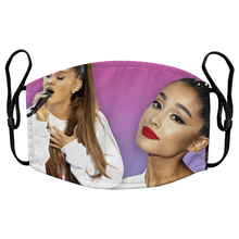 Load image into Gallery viewer, Ariana Grande Reusable Premium Face Mask Cover with Filters
