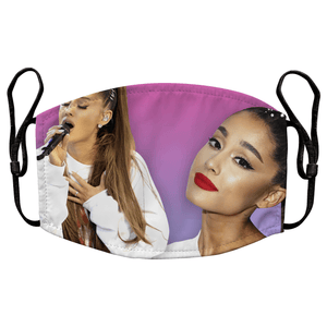 Ariana Grande Reusable Premium Face Mask Cover with Filters