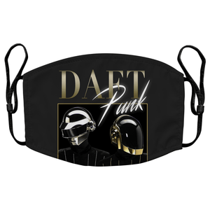 Daft Punk Reusable Premium Face Mask Cover with Filters