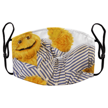 Load image into Gallery viewer, Honey Monster Sugar Puffs Reusable Premium Face Mask Cover with Filters