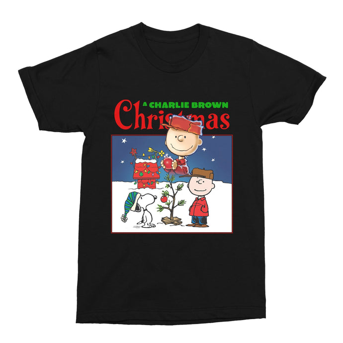 A Charlie Brown Christmas Movie Xmas 2020 Unisex Vintage Throwback T-Shirt - Timeless Tees