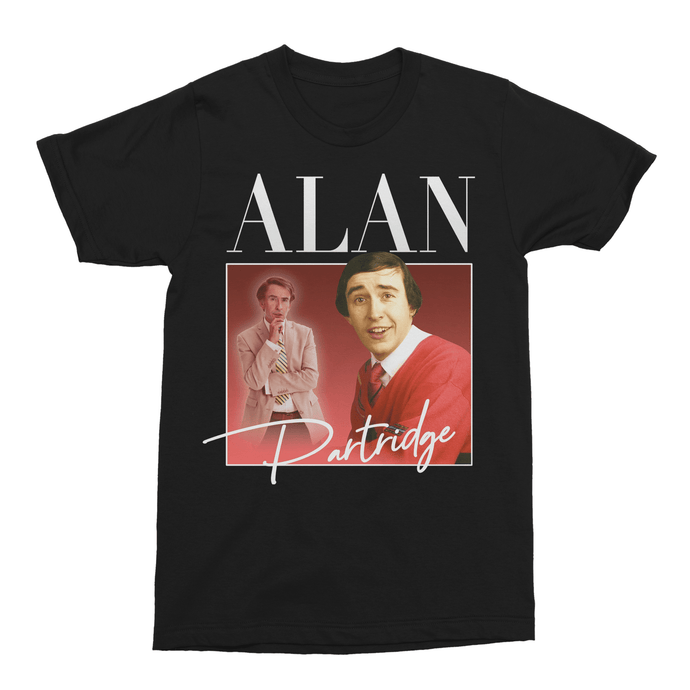 Alan Partridge Steve Coogan Unisex Vintage Throwback T-Shirt - Timeless Tees
