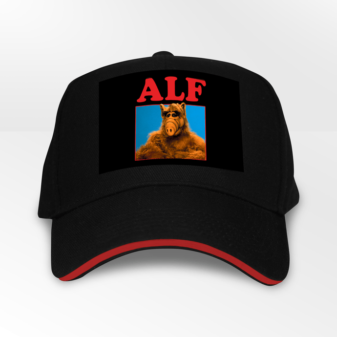 Alf Retro 80s TV Show 5 Panel Throwback Cap - Timeless Tees