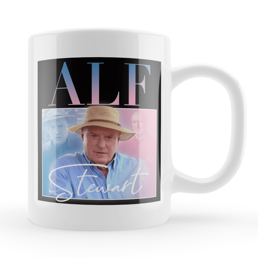 Alf Stewart Home and Away Vintage Style Throwback Coffee Tea Mug - Timeless Tees