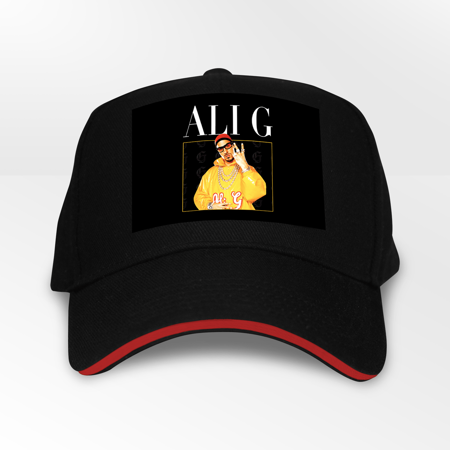 Ali G Sacha Baron Cohen 5 Panel Throwback Cap - Timeless Tees