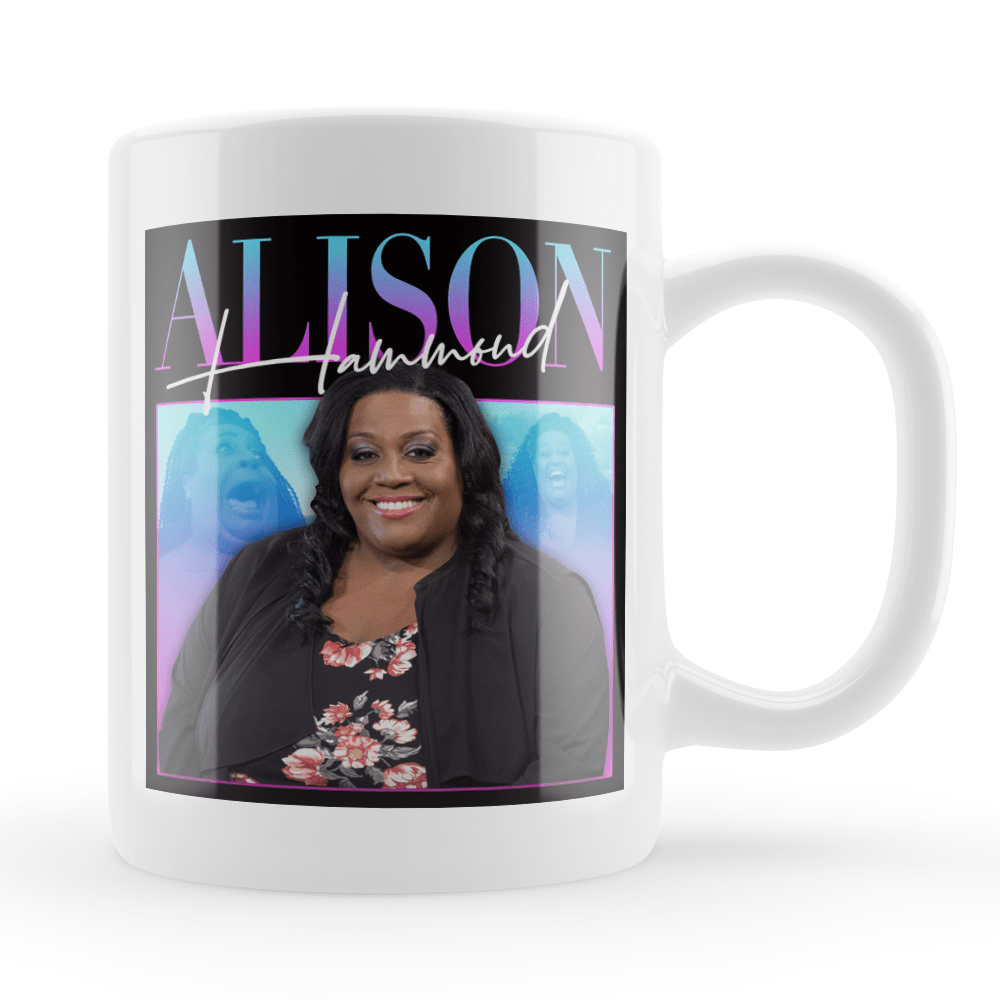 Alison Hammond Vintage Style Throwback Coffee Tea Mug - Timeless Tees