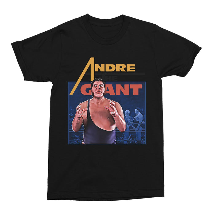 André the Giant WWE Wrestling Unisex Vintage Throwback T-Shirt - Timeless Tees