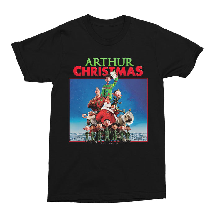 Arthur Christmas Movie Xmas 2020 Unisex Vintage Throwback T-Shirt - Timeless Tees
