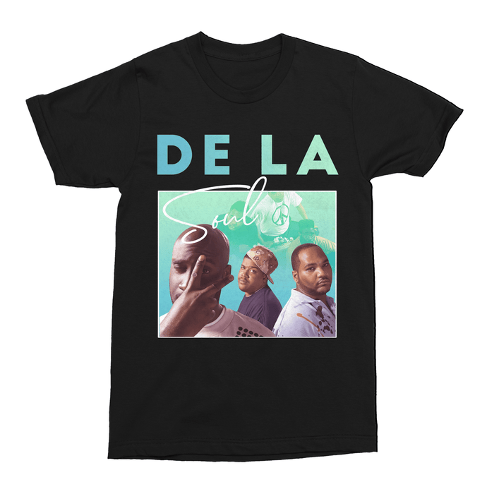 De La Soul Hip Hop Unisex Vintage Throwback T-Shirt - Timeless Tees