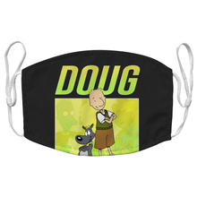 Load image into Gallery viewer, Doug 01 90s Cartoon Reusable Decorative Face Mask with Filters - Timeless Tees