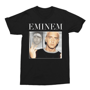 Eminem Slim Shady Hip Hop Unisex Vintage Throwback T-Shirt - Timeless Tees