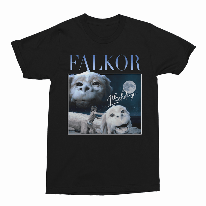Falkor The Neverending Story Retro 80s Movie Unisex Vintage Throwback T-Shirt - Timeless Tees