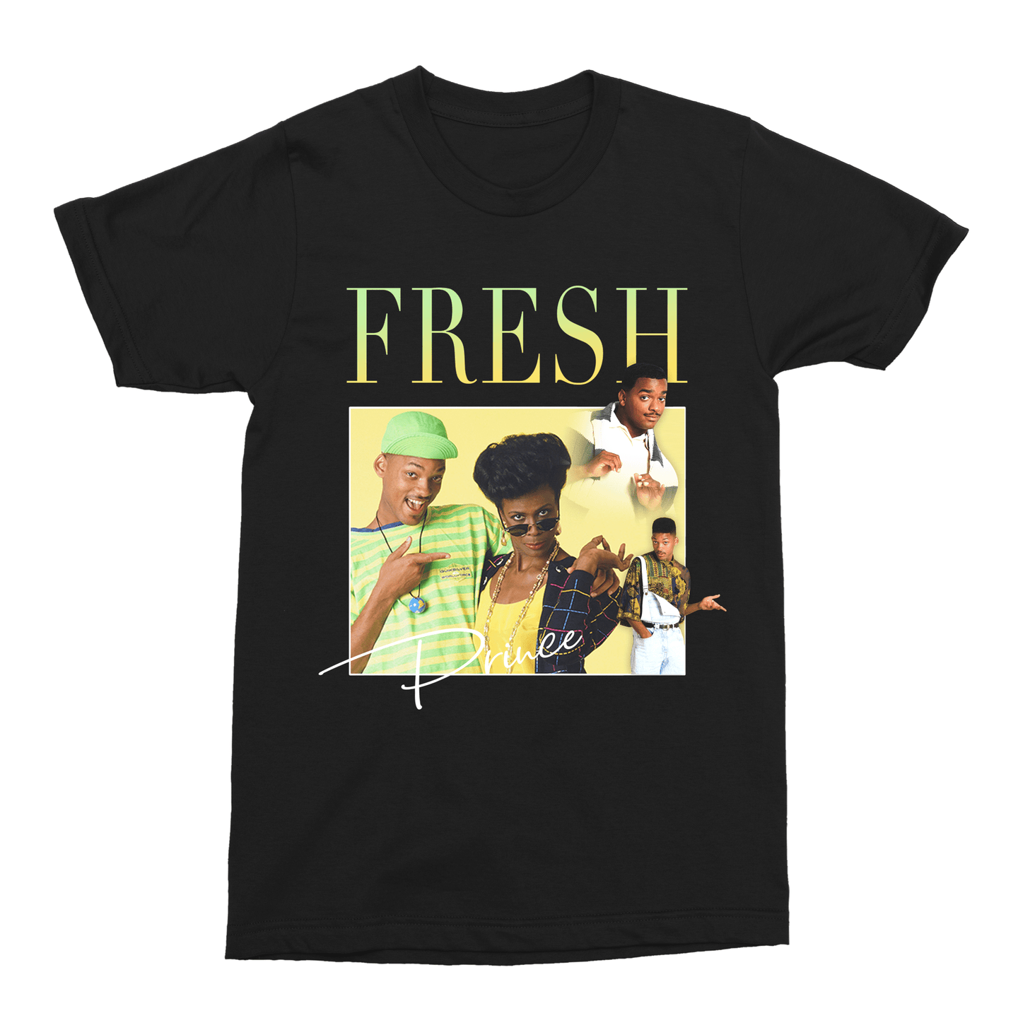Fresh Prince of Bel-Air Will Smith 90s TV Unisex Vintage Throwback T-Shirt - Timeless Tees