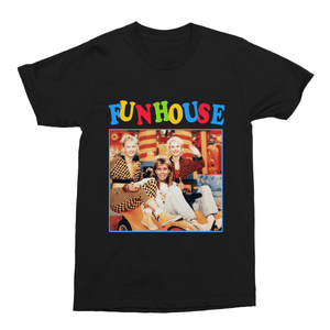 Fun House Pat Sharp 80s Retro Unisex Vintage Throwback T-Shirt - Timeless Tees