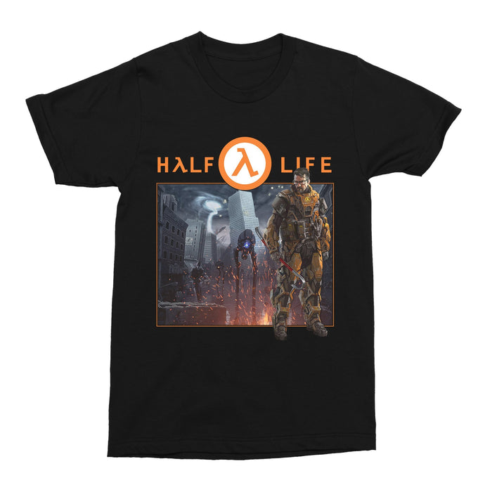 Half-Life 90s Retro Gaming Unisex Vintage Throwback T-Shirt - Timeless Tees
