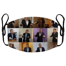 Load image into Gallery viewer, Homes Under the Hammer Martin Roberts Reusable Premium Face Mask Cover with Filters - Timeless Tees