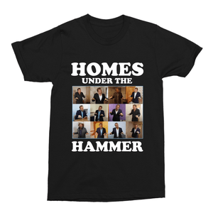 Homes Under the Hammer Martin Roberts Unisex Vintage Throwback T-Shirt - Timeless Tees