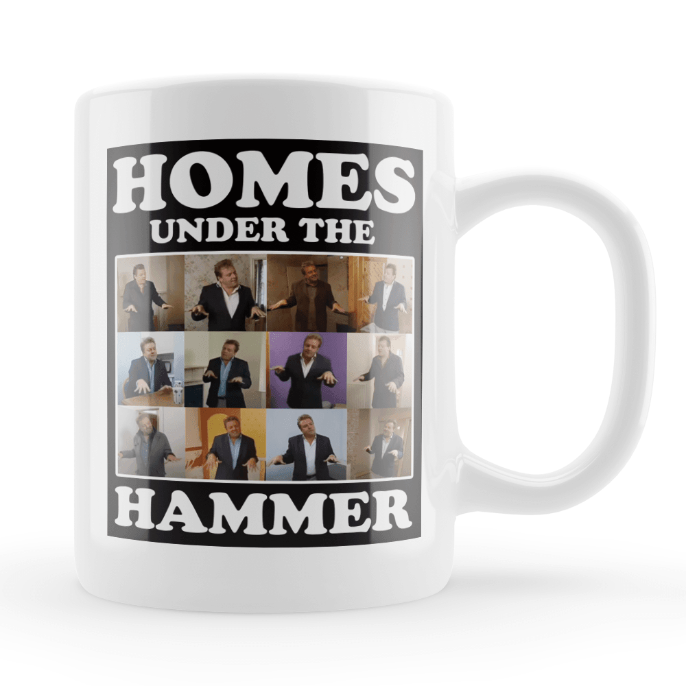 Homes Under the Hammer Vintage Style Throwback Coffee Tea Mug - Timeless Tees