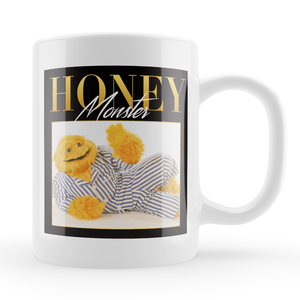 Honey Monster Sugar Puffs Vintage Style Throwback Coffee Tea Mug - Timeless Tees