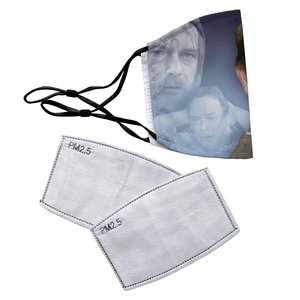 Ian Beale EastEnders Reusable Premium Face Mask Cover with Filters - Timeless Tees