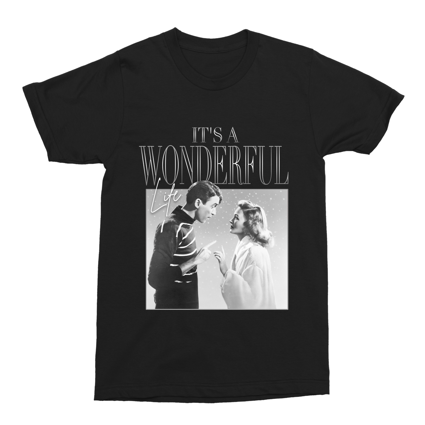 It's a Wonderful Life Unisex Vintage Throwback T-Shirt - Timeless Tees