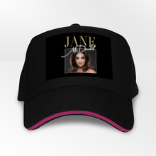 Load image into Gallery viewer, Jane McDonald 5 Panel Throwback Cap - Timeless Tees