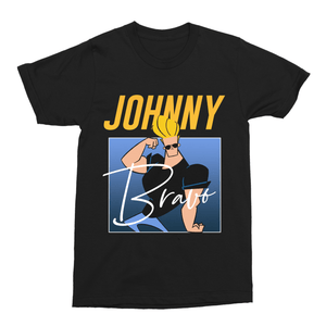 Johnny Bravo 90s Retro Cartoon Unisex Vintage Throwback T-Shirt - Timeless Tees