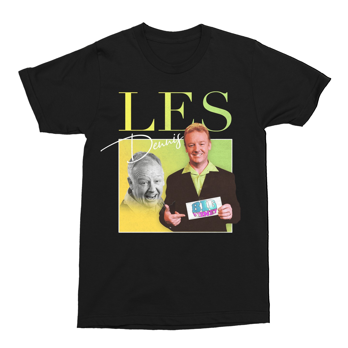 Les Dennis Family Fortunes TV Unisex Vintage Throwback T-Shirt - Timeless Tees