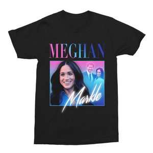 Meghan Markle Unisex Vintage Throwback T-Shirt - Timeless Tees