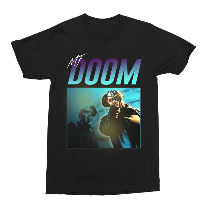 MF Doom Hip Hop Unisex Vintage Throwback T-Shirt - Timeless Tees