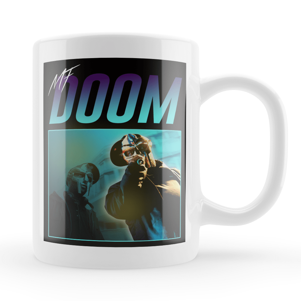 MF Doom Hip Hop Vintage Style Throwback Coffee Tea Mug - Timeless Tees