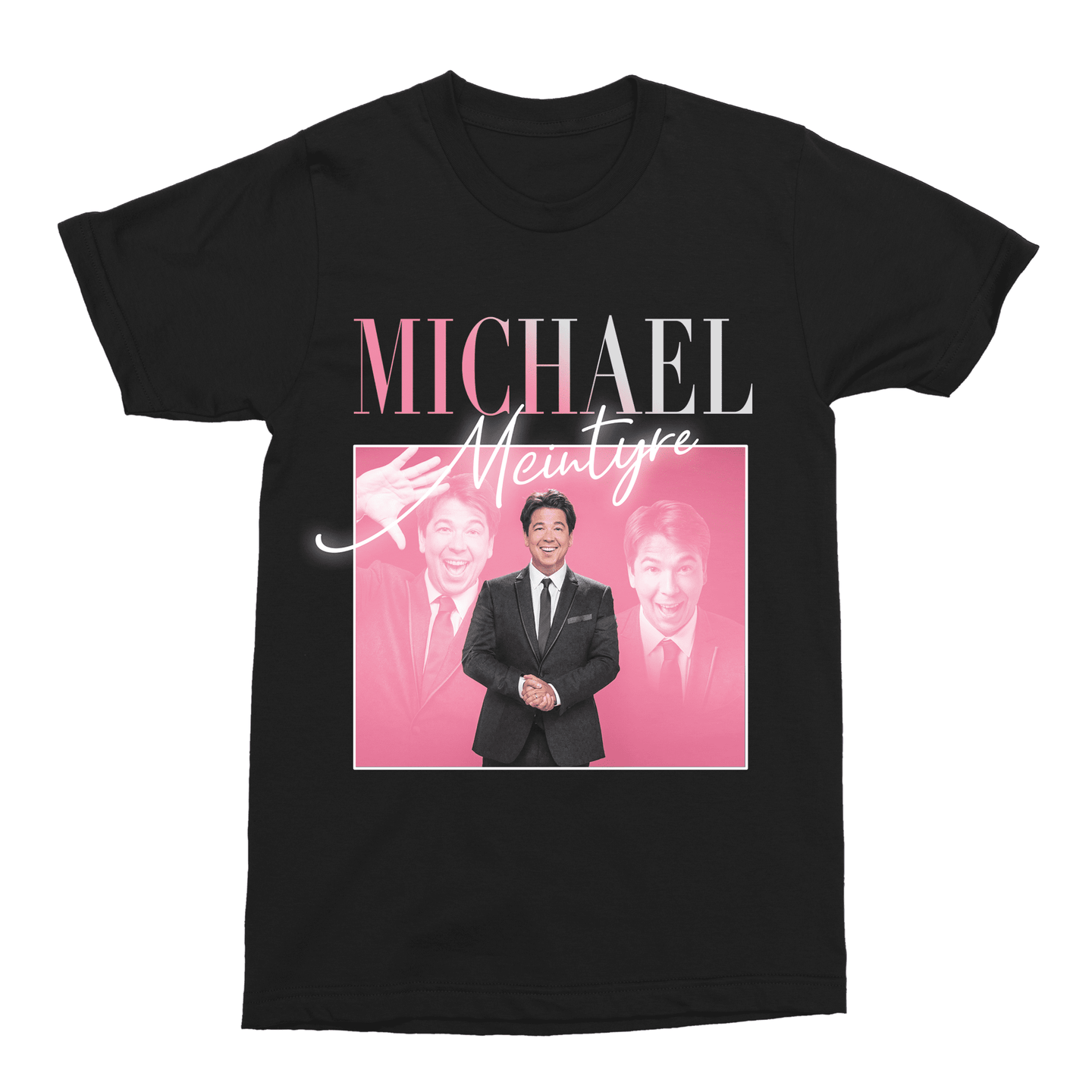 Michael McIntyre Unisex Vintage Throwback T-Shirt - Timeless Tees