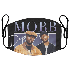 Mobb Deep Hip Hop Reusable Premium Face Mask Cover with Filters - Timeless Tees