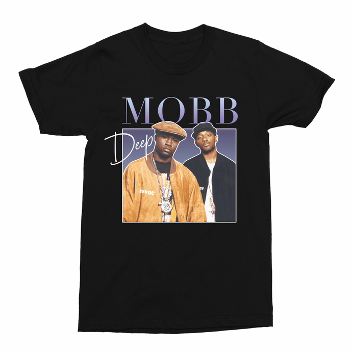 Mobb Deep Hip Hop Unisex Vintage Throwback T-Shirt - Timeless Tees