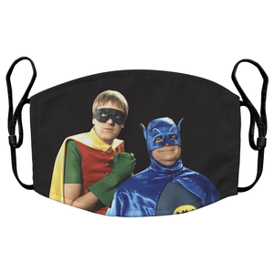 Only Fools and Horses Del Boy & Rodney Reusable Premium Face Mask Cover with Filters - Timeless Tees