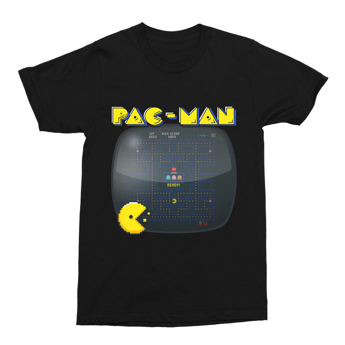 Pac-Man 02 Gaming 80s Retro Unisex Vintage Throwback T-Shirt - Timeless Tees